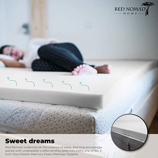 Best Red Nomad Mattress Topper